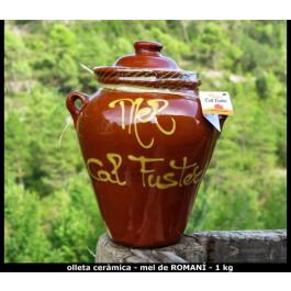 Mel de Romaní pot ceràmica