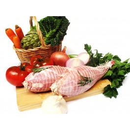 Conill cuixa farcida amb fruita de Lleida