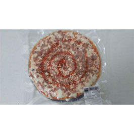 Pizza de conill barbacoa. Envasada al buit