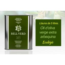 Oli verge extra d'oliva arbequina ECO 5L