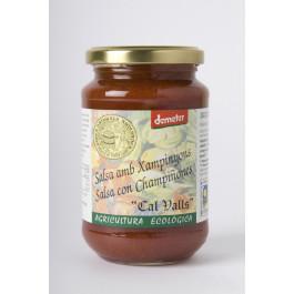 Salsa de Tomata amb Xampinyons Biodinàmica. 350 gr
