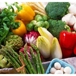 Cistella Sense Fructosa amb fruita i verdura ECO