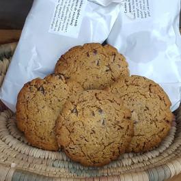Cookies eco amb xips de xocolata negra 70%