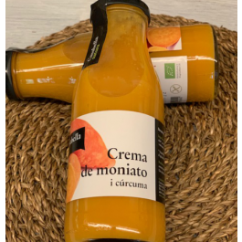 Crema de Moniato i cúrcuma ECO 500ml