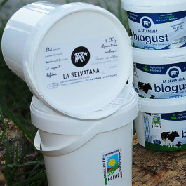 Iogurt Natural Biogust ecològic 1kg