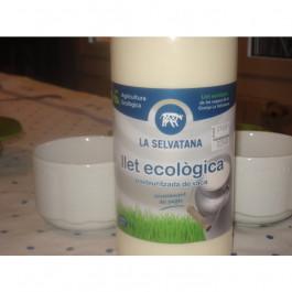 Llet fresca sencera ECO pasteuritzada en ampolla de vaca