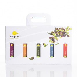 Olis Aromàtics. Pack 5 varietats en maletí cartró