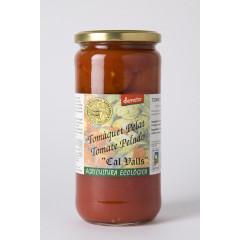 Tomata Sencera Pelada Biodinàmica. 660 gr