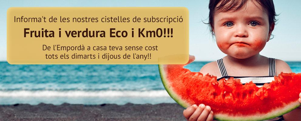 Fruita i verdura Eco i Km0